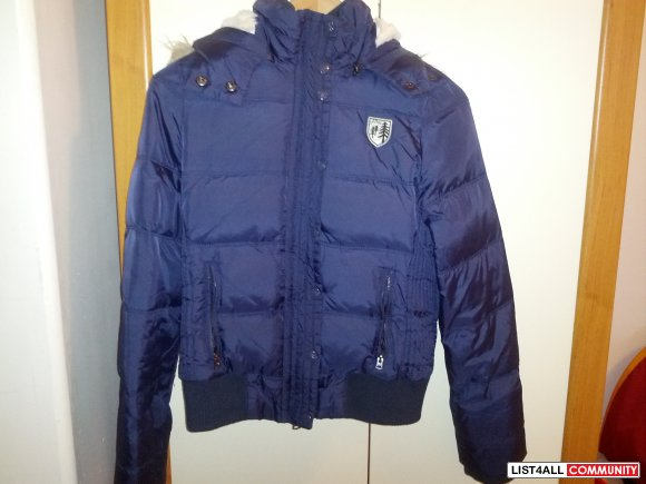 American Eagle navy blue winter jacket size small