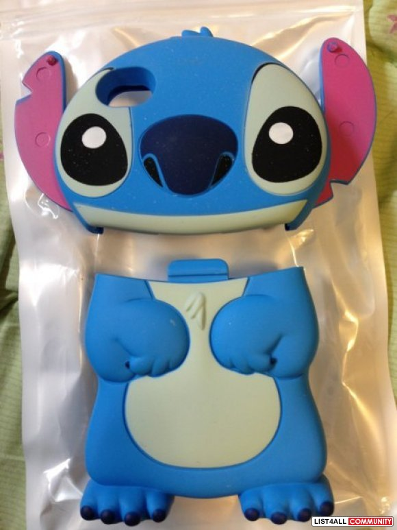 New never used LILO STITCH Iphone 4 4s 3D Hardcase cellphone Case Cove