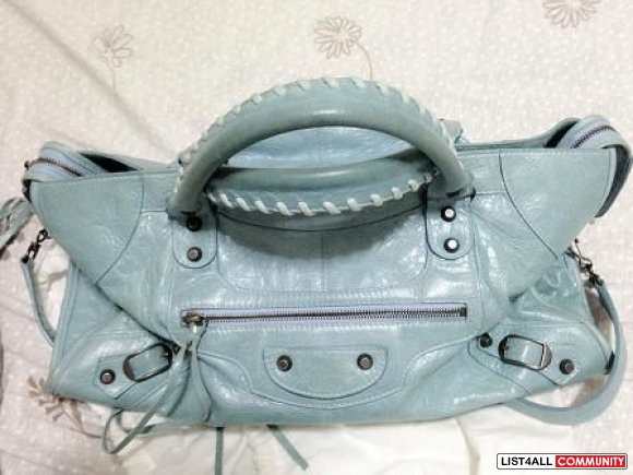 [SOLD] Authentic Balenciaga Mint Blue Part time
