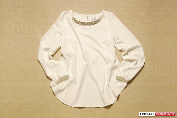 [SOLD] ivory top