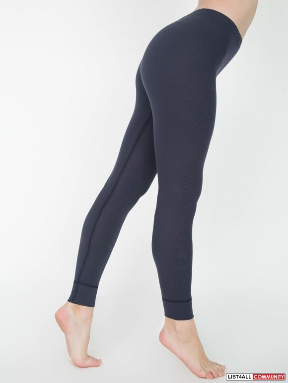 NEW American Apparel Baby Thermal Legging Size S $26