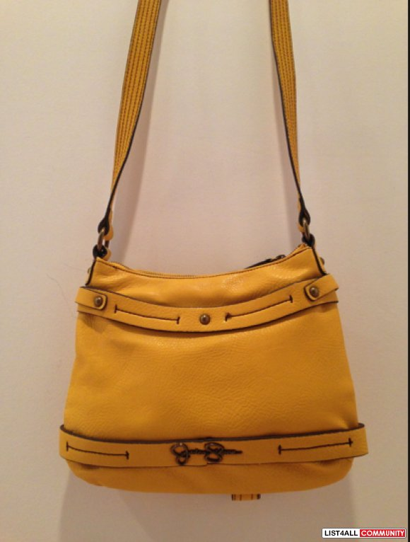 yellow GS side bag
