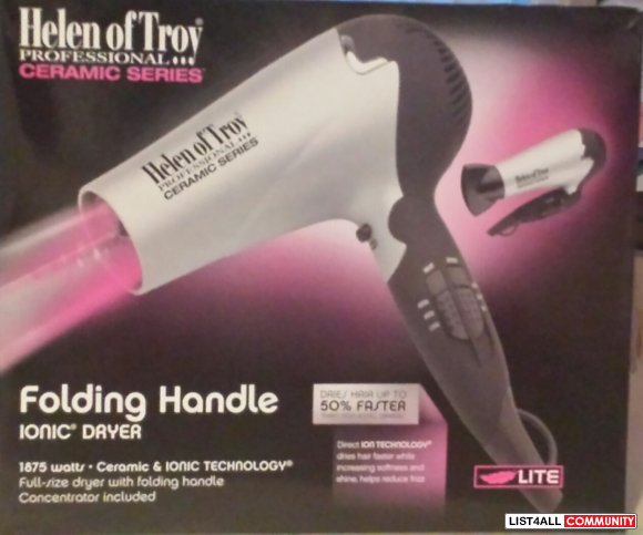 Ceramic blow dryer brand new in box