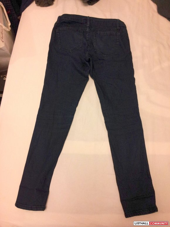 Forever 21 Skinny Jeans Size 26x29