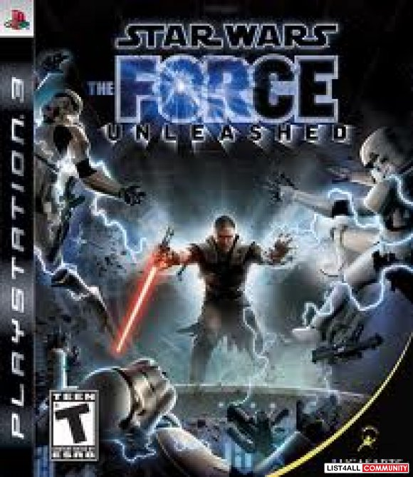 Star Wars The Force Unleashed PS3 COMPLETE