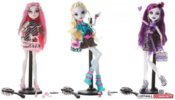 Monster High Dolls Ghouls Night Out NIB
