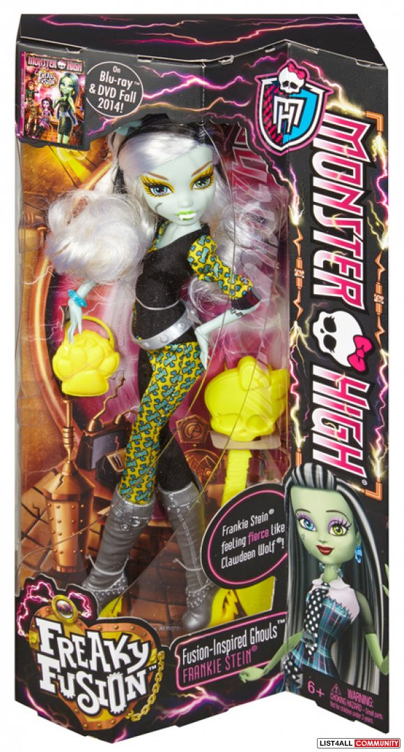 Monster High Freaky Fusion Dolls NIB