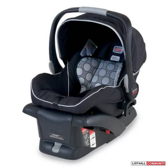 BRITAX B-SAFE INFANT CARSEAT PURCHASED ON 2012