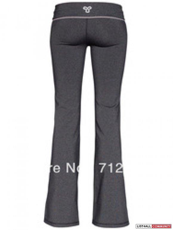 Womens GREY TNA yoga pants. flare. medium brand new :: lielalee ...