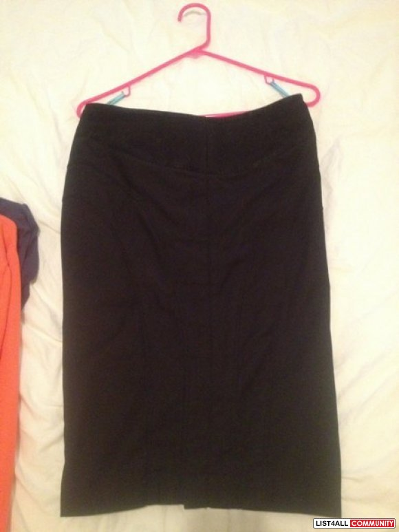 Marciano pencil skirt size 6