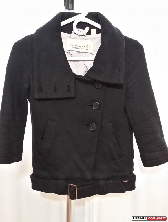 **RE-REDUCED!!** Aritzia - Community 3/4 Length Jacket -- $30obo NOW!!