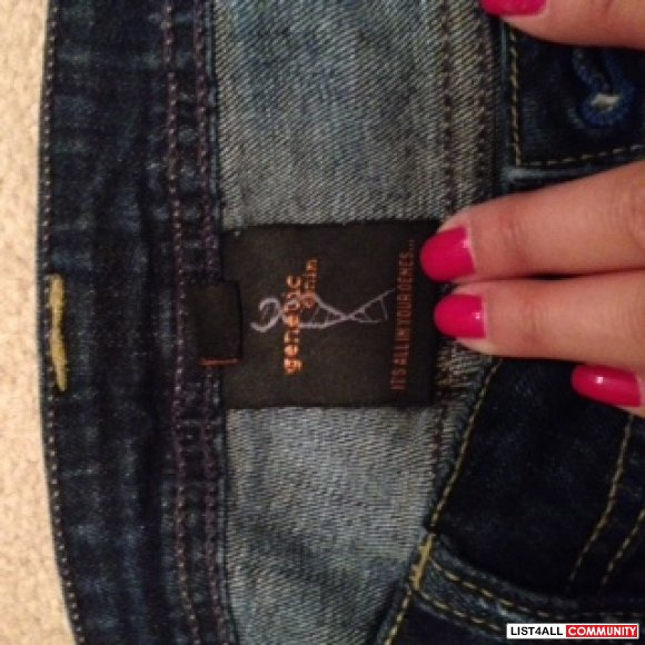 Aritzia Genetic Denim - Size: 27