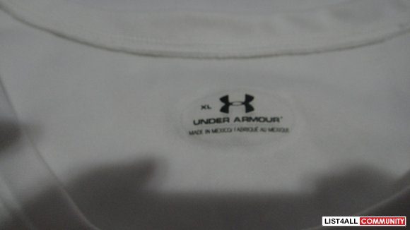 underarmor / underarmour female xl white