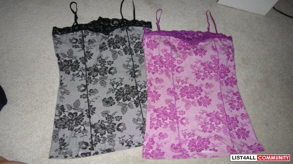 corset like top size medium