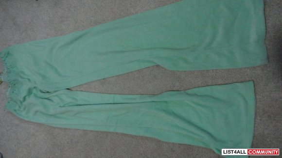 Now $5 - green towel like jacket size small