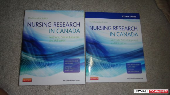 Study Guide nursing research in canada methods, critical appraisal and