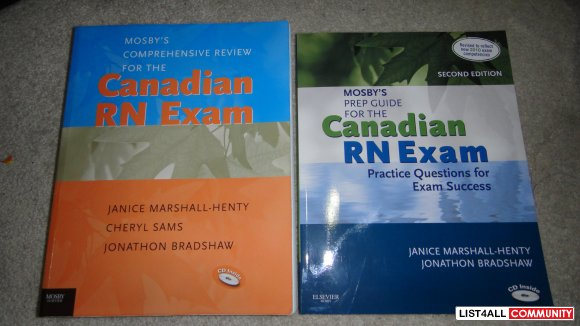 crne exam prep book like new