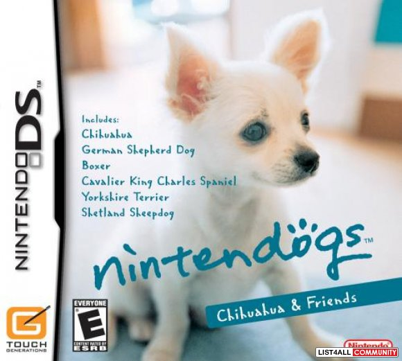 Nintendogs Chihuahua & Friends for Nintendo DS