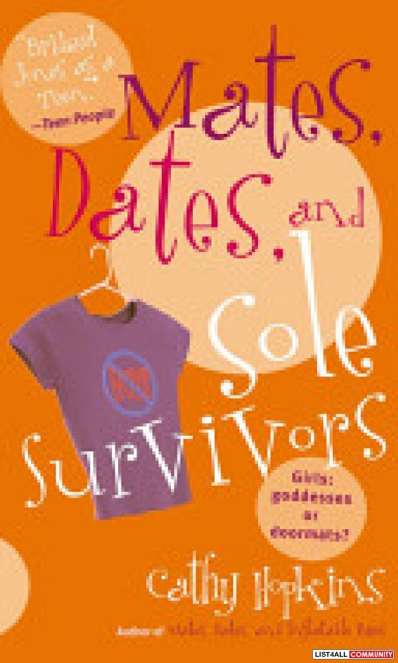 Mates, Dates, and Sole Survivors - Cathy Hopkins