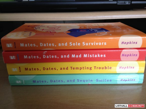 Mates, Dates, and Mad Mistakes - Cathy Hopkins