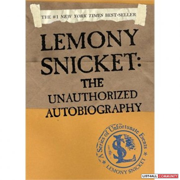 A Series of Unfortunate Events-The Unauthorized Autobiography-Snicket