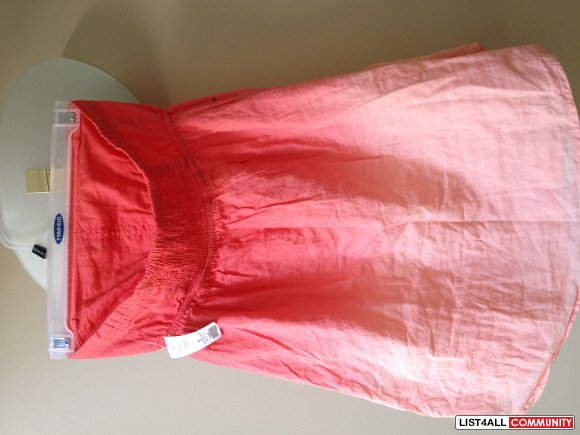 Women's Pink Ombre Tube Top - Garage - Size S