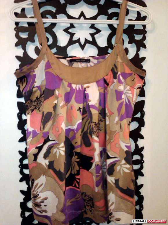 GUC Vera Moda silk top size medium-Multiple item discount