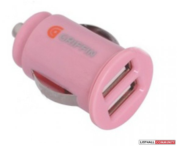 Griffin 2 port USB car charger