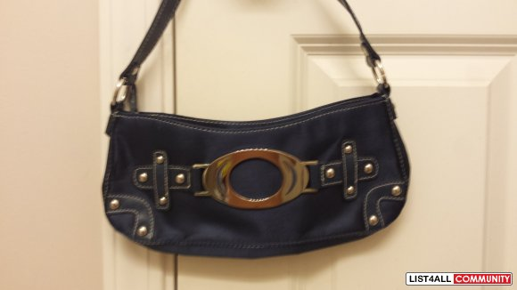 BNWOT Navy Blue Purse