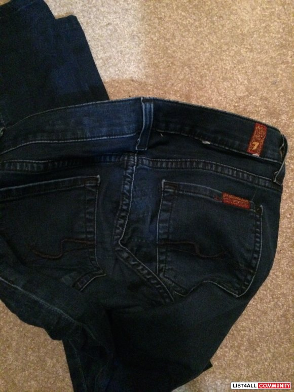 Pre-owned 7 for all mankind jeans (size 26)