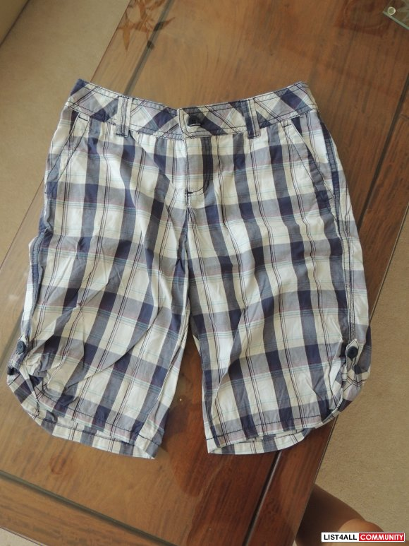 Plaid Shorts Size M