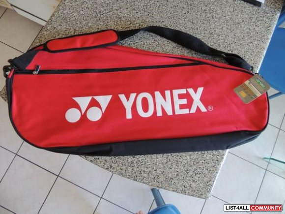 BRAND NEW WITH TAG- Yonex Badminton Racket and Badminton Bags