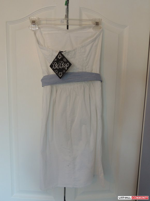 brand new with tags strapless dress
