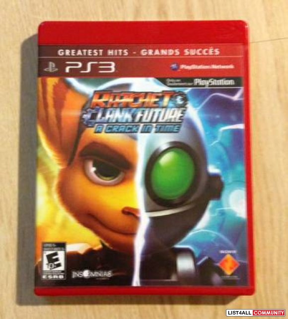 Ratchet and Clank Future A Crack In Time PS3