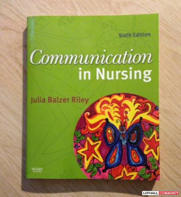 Communication in Nursing Sixth Edition