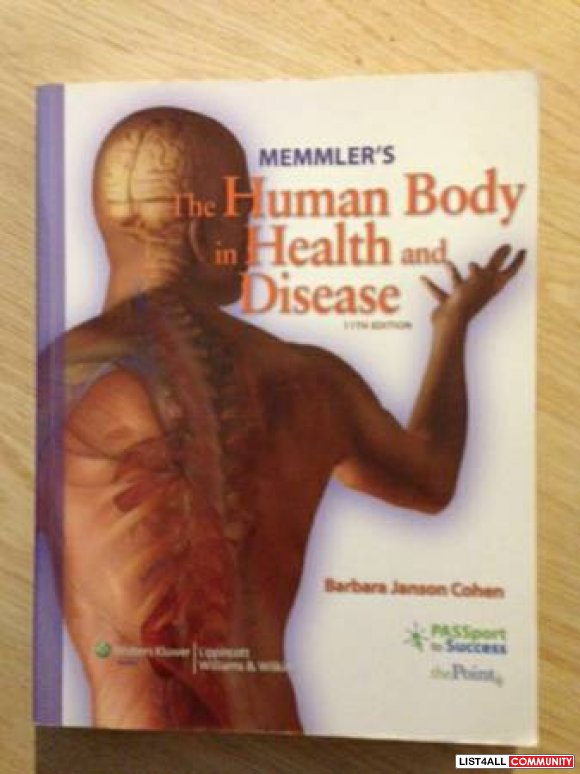 Hemmler's The Human Body in Health and Disease 11th Edition