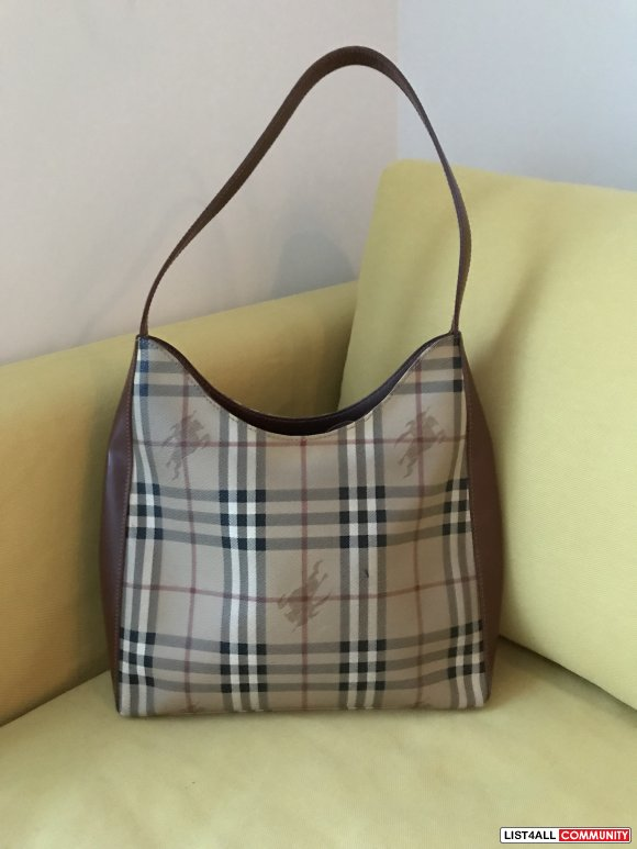 Authentic Burberry Hobo Bag