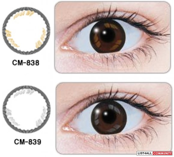 Geo Tear Brown Series - Circle Lens contacts