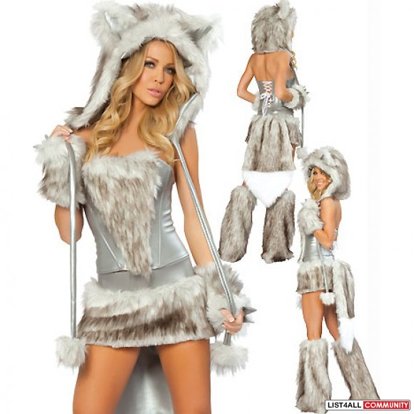 Bad Wolf Costume XS/S Halloween Costume