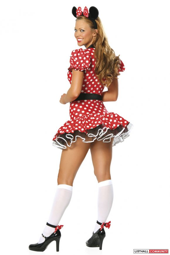 Minnie Mouse Size XS/S Halloween Costume
