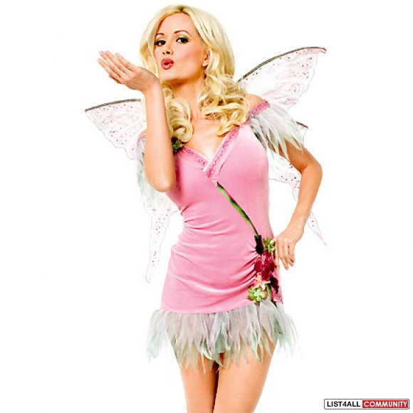 Playboy Fairy XS/S Halloween Costume