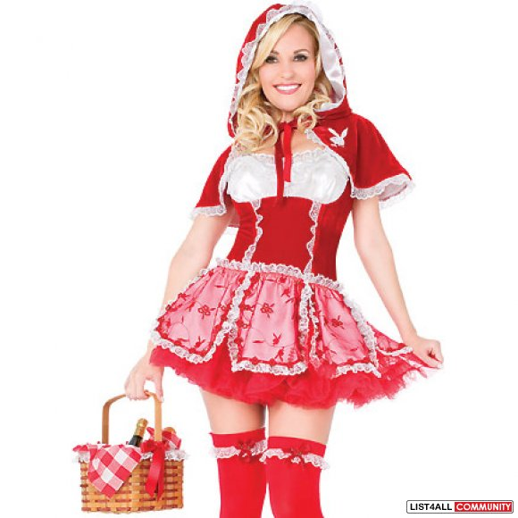 Playboy Little Red Riding Hood Costume