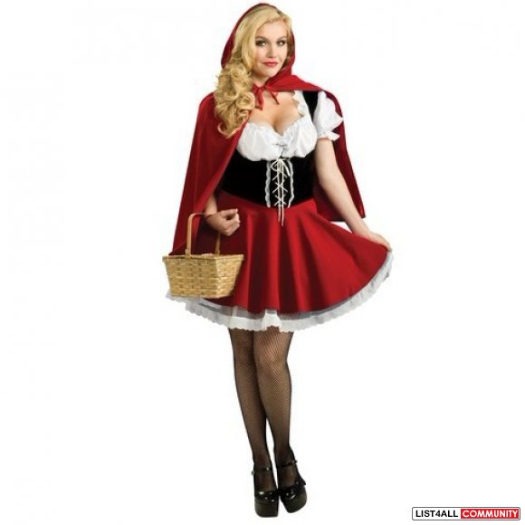 Little Red Riding Hood SIZE M Halloween Costume