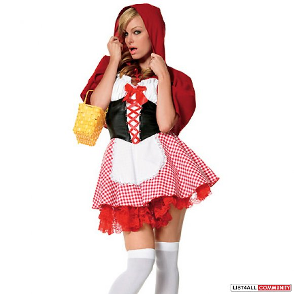 Little Red Riding Hood XS/S Halloween Costume