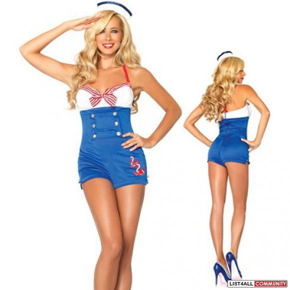 Sailor XS/S Halloween Costume