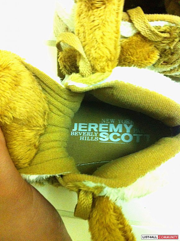 Replica Original x Jeremy Scott Teddy Bear Shoes RARE (NOW $80)