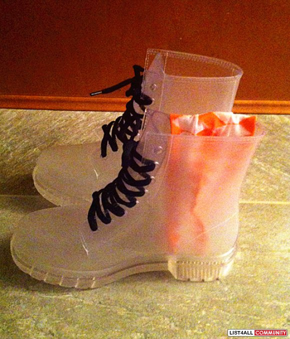 Retro Jelly Boots (NOW $30)