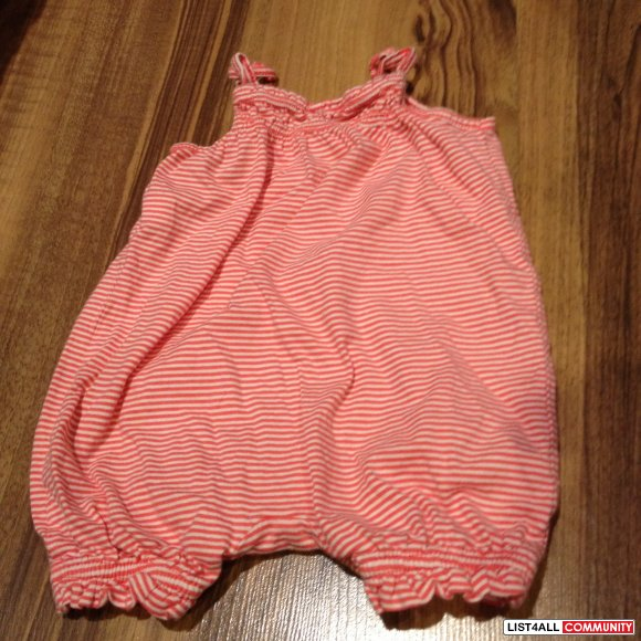 baby gap striped romper