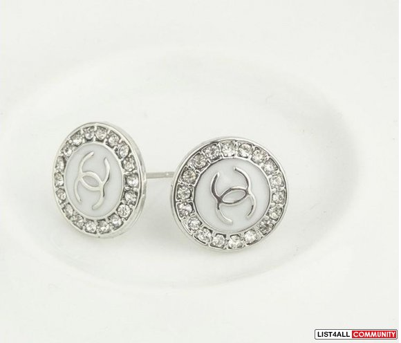 REPLICA CC CHANEL EARRINGS STUDS 1PAIR