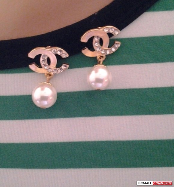 replica chanel  earrings